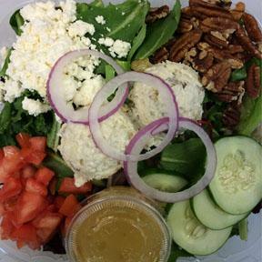 Salad Fruity Chicken